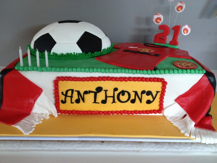 Manchester United Cake Cakecentral
