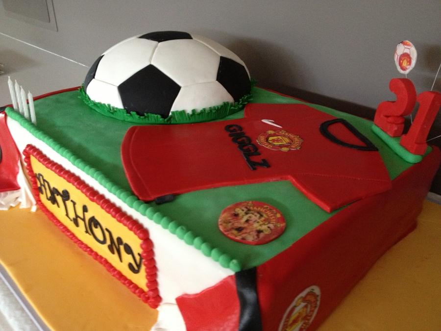 Manchester United Cake Cakecentral Com