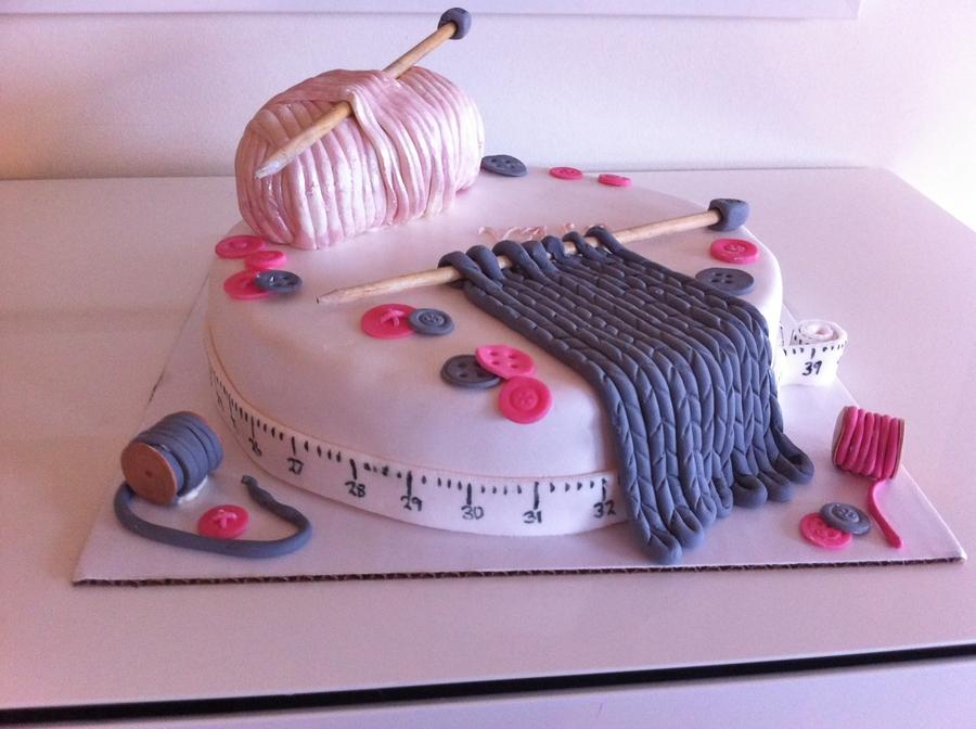 Knitting Cake Tutorial : Knitting cake cakecentral