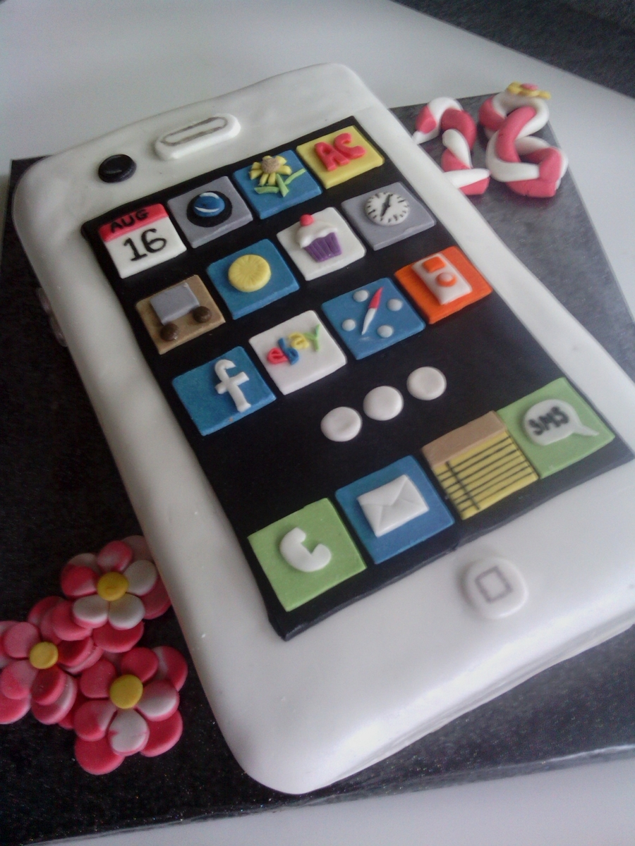 Iphone 18th Birthday Cake Cakecentral