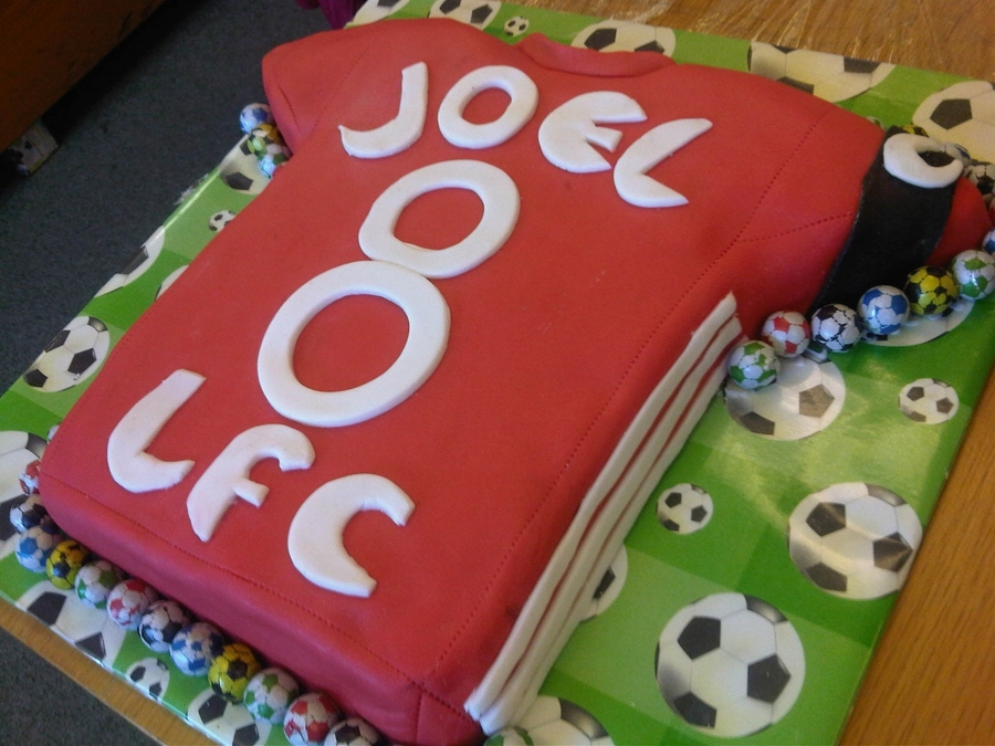 Liverpool Fc 8Th Birthday Cake on Cake Central