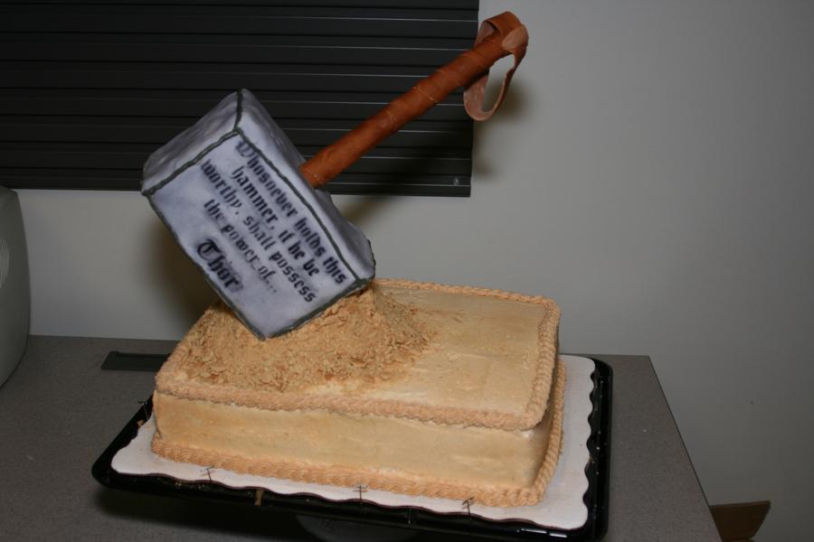 Thor hammer cake recipes Easy food recipes