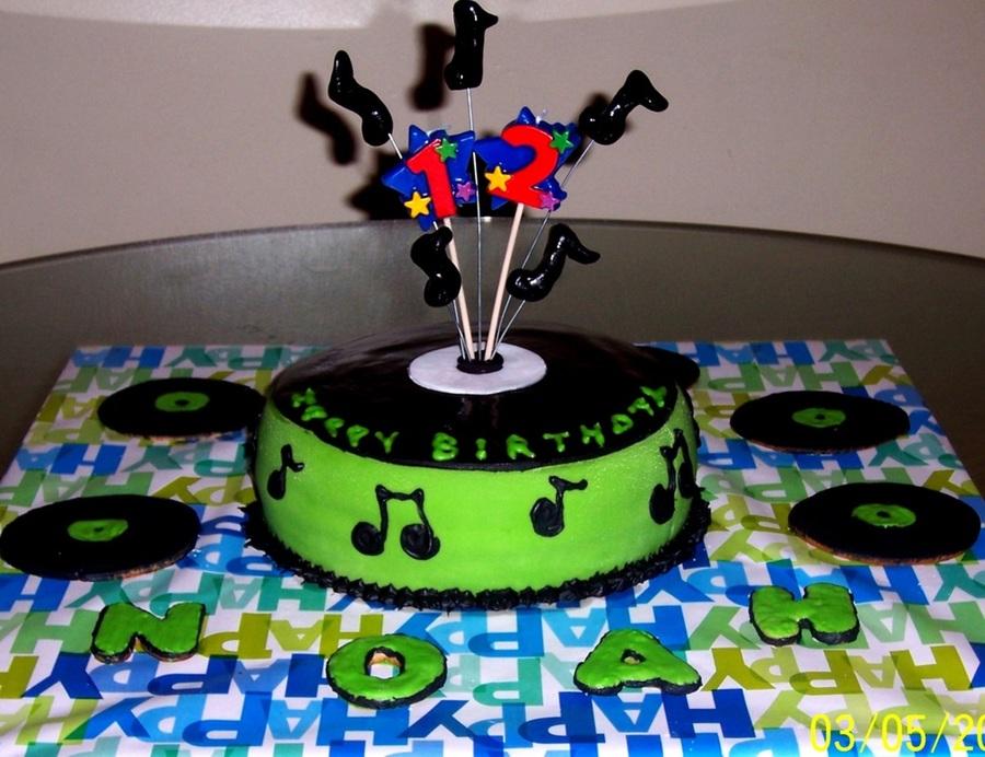 Fantastic Cd Cake Cakecentral Com Funny Birthday Cards Online Elaedamsfinfo