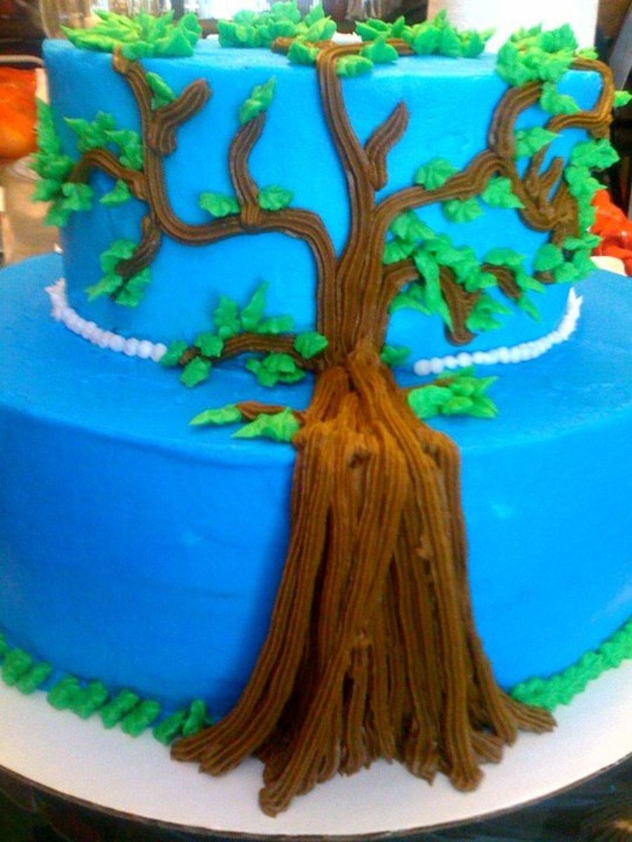Family Tree Family Reunion Celebration Cake Cakecentral Com
