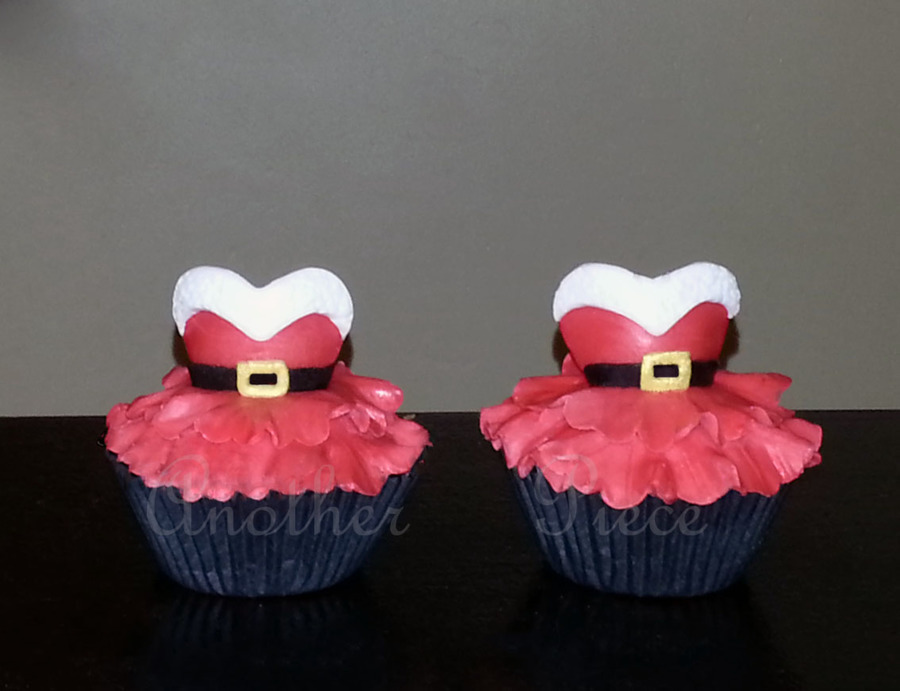 Mrs Claus Cupcakes  on Cake Central