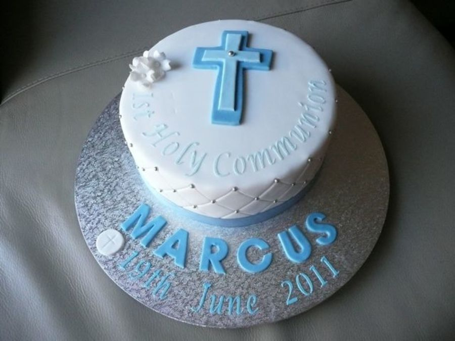 Boys First Holy Communion Cakecentral Com