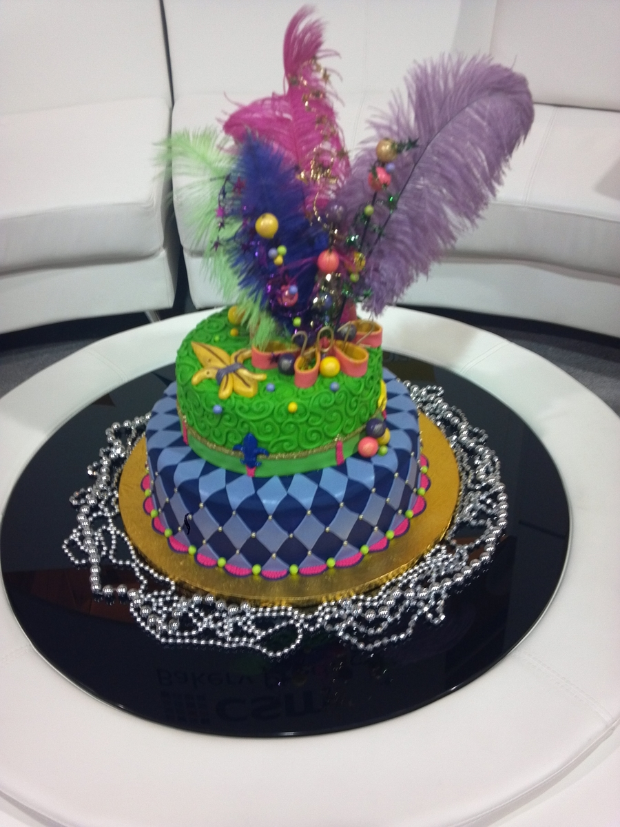 Mardi Gras Celebration on Cake Central