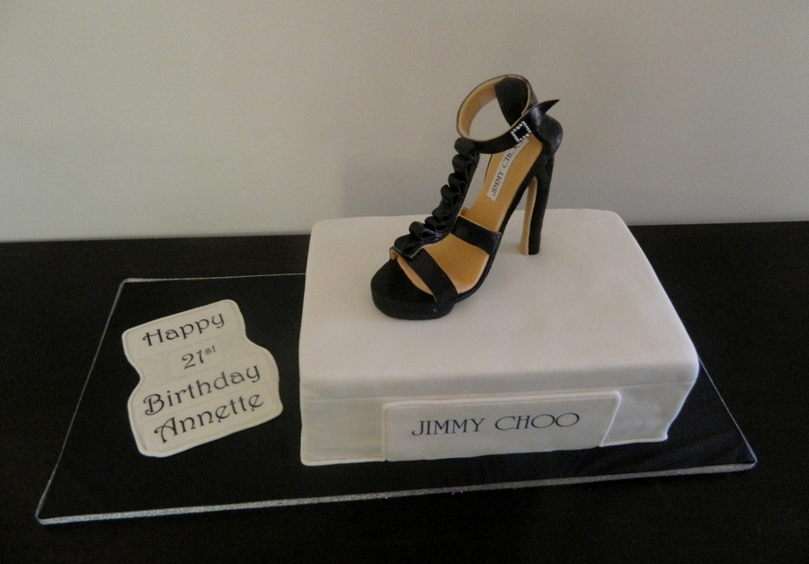 Jimmy Choo Shoe on Cake Central