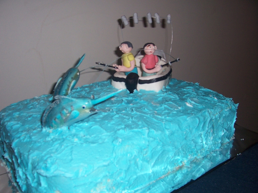 Marlin Fishing on Cake Central
