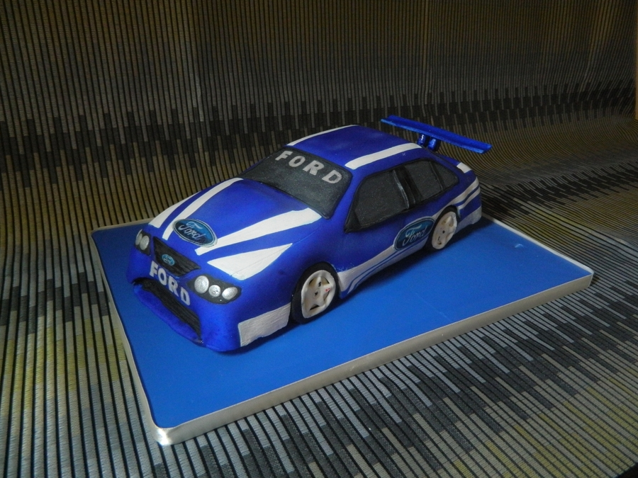 Ford Supercar on Cake Central