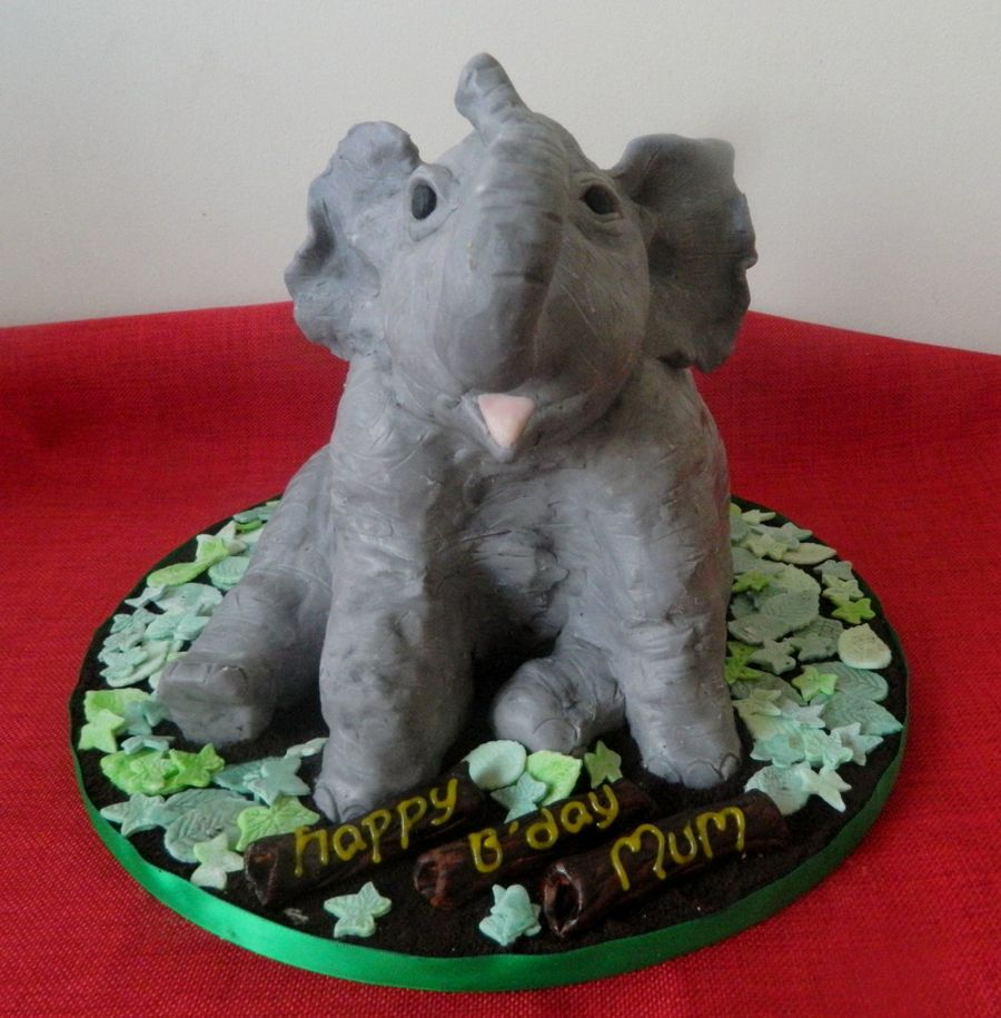 Leo The Elephant on Cake Central