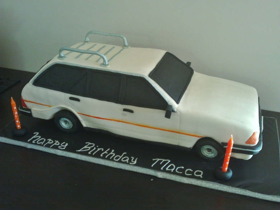 Hubbys First Car on Cake Central