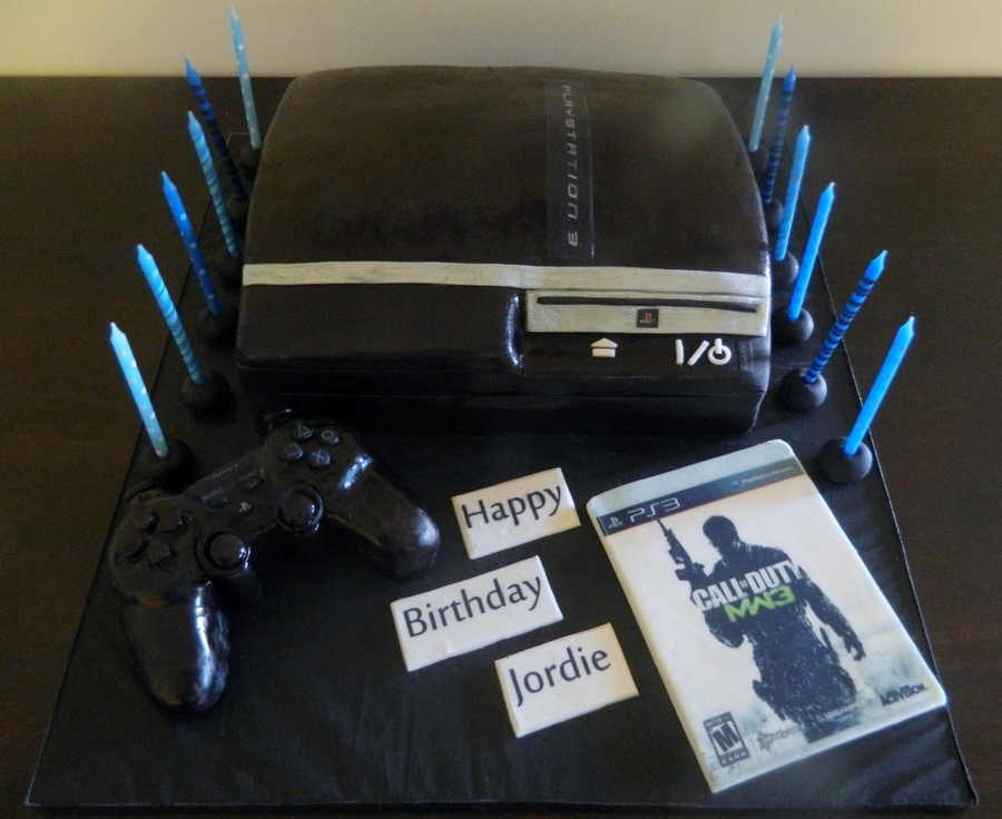 Playstation 3 on Cake Central