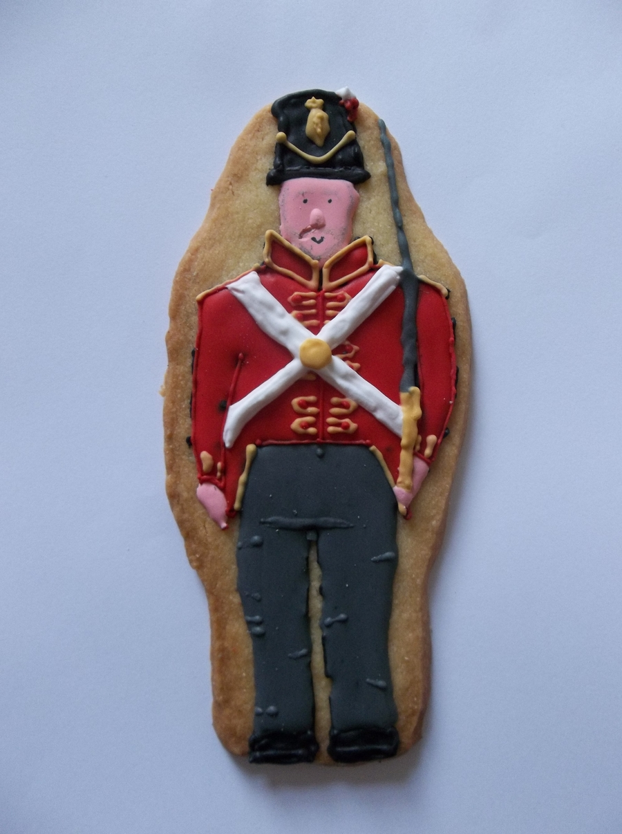 Redcoat Soldier  on Cake Central