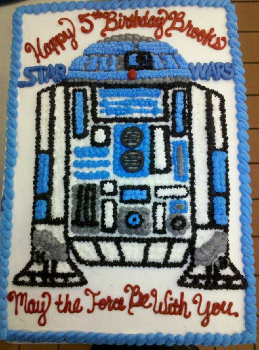 R2-D2 on Cake Central