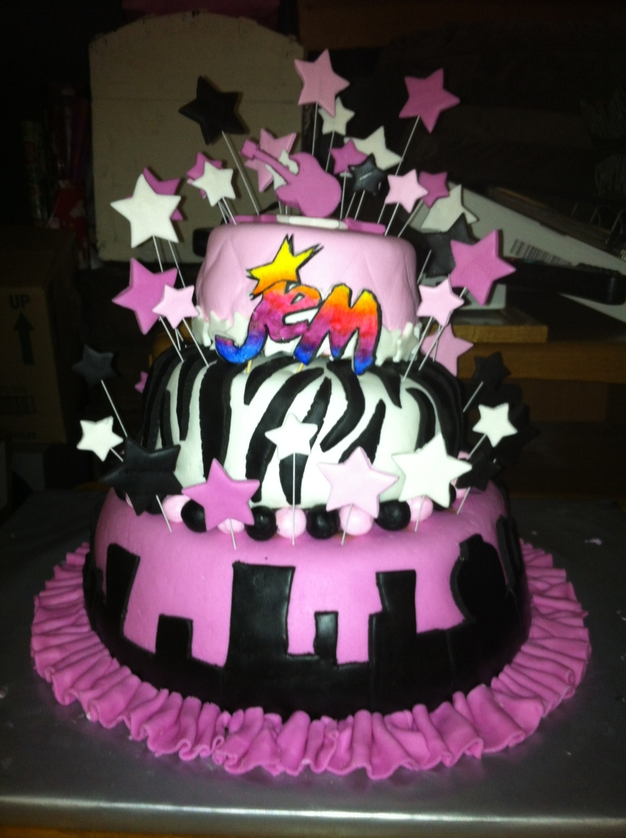 Jem Birthday Cake on Cake Central