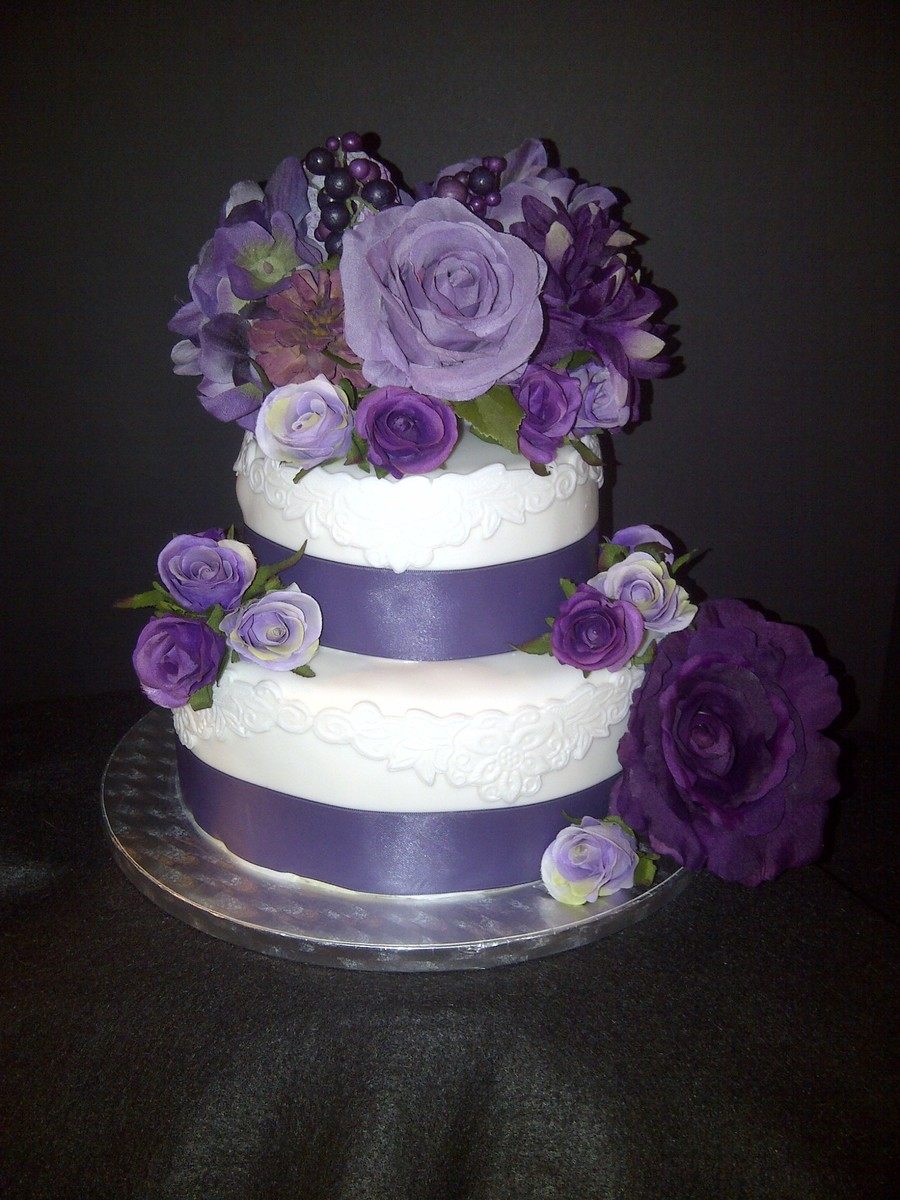 artificial wedding cake flowers wedding cake with silk flowers vanilla cake with swiss 10846