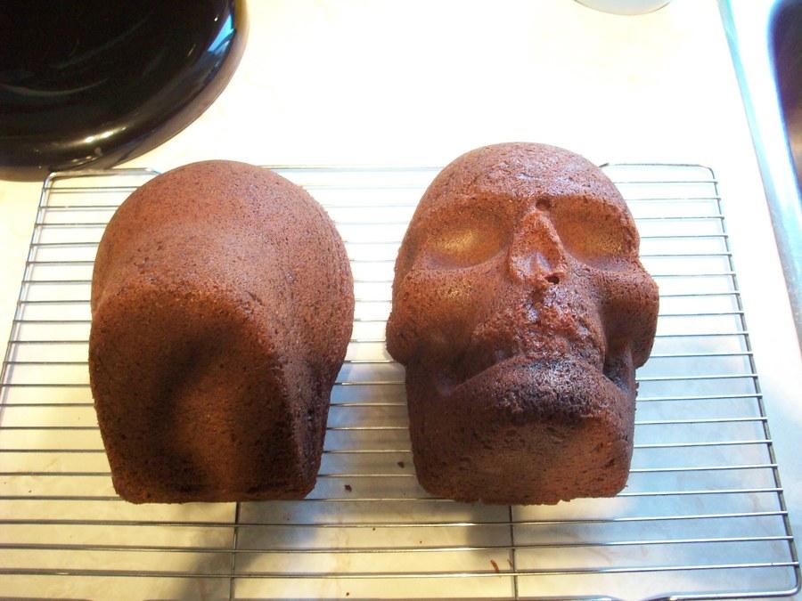 Evil Clown Skull Cake Cakecentral Com