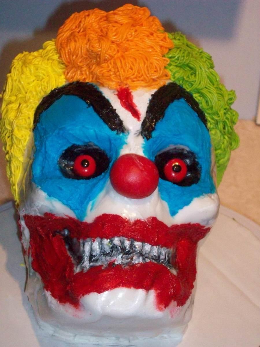 Birthday Cake Clown