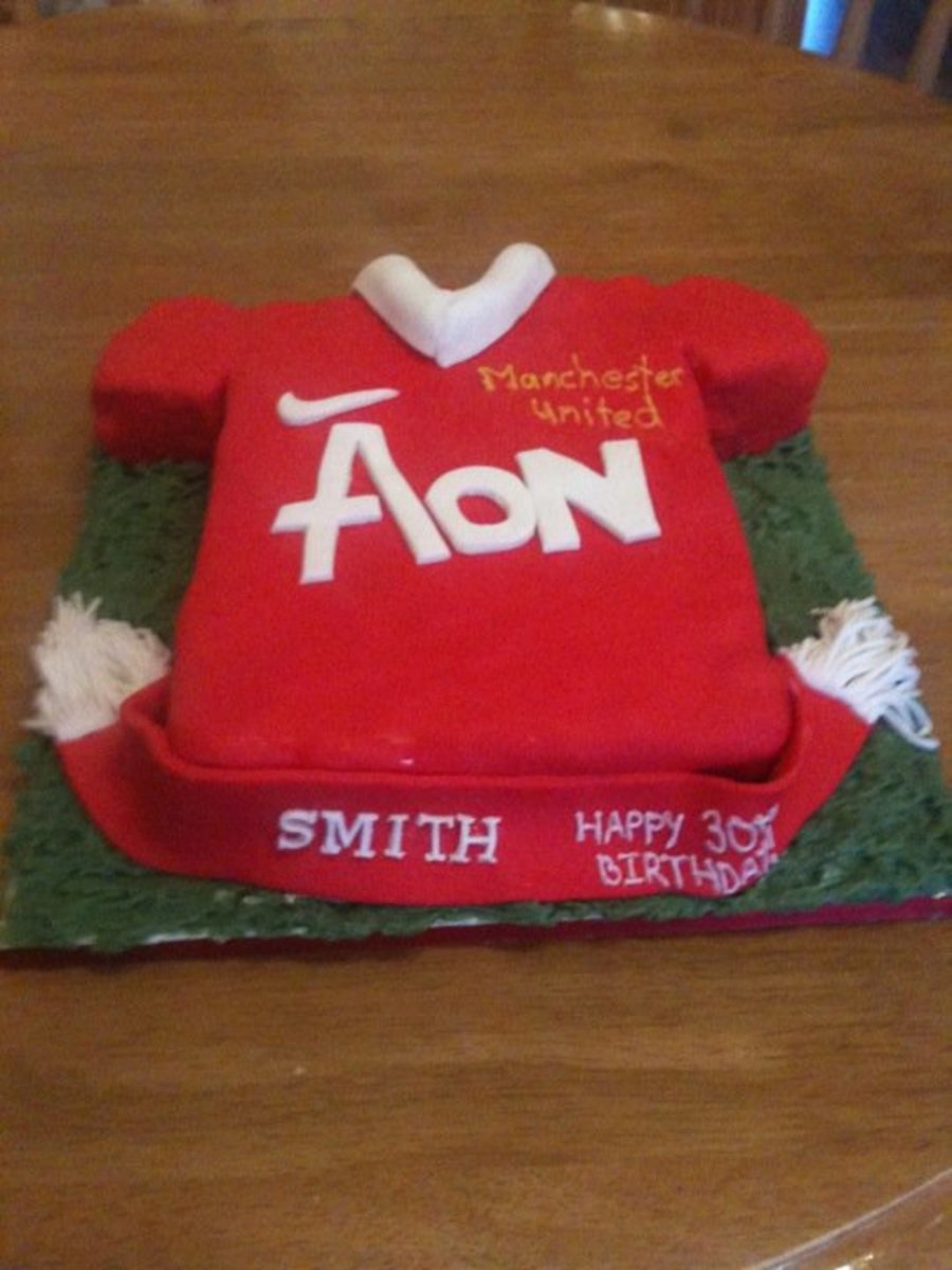 30Th Man United Cake on Cake Central
