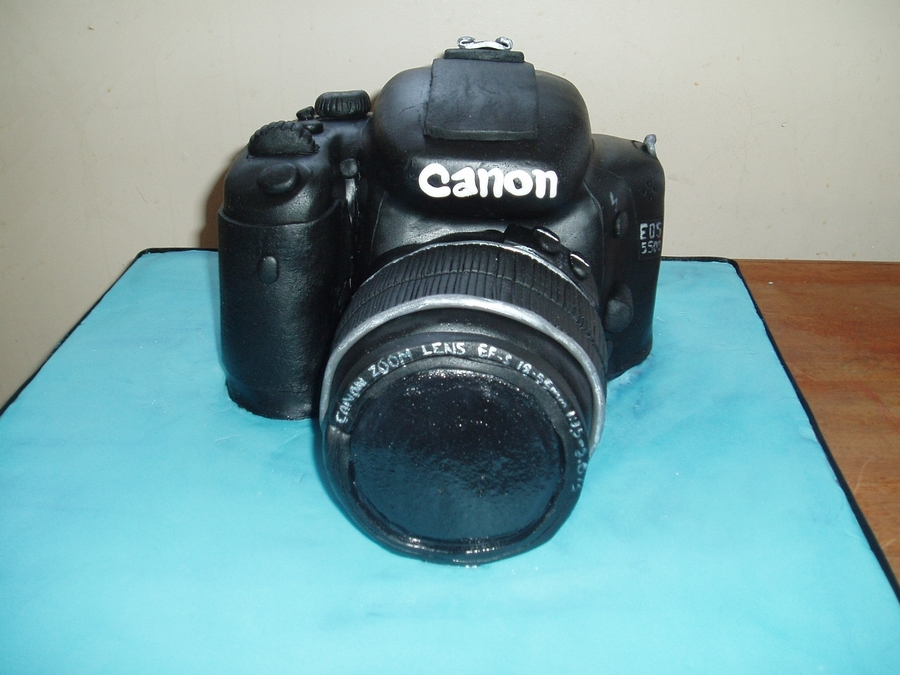 Canon Camera Cake on Cake Central