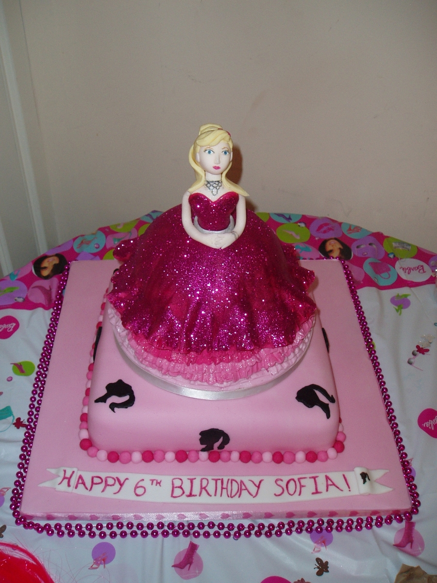 Fashion Fairytale Barbie Birthday Cake on Cake Central