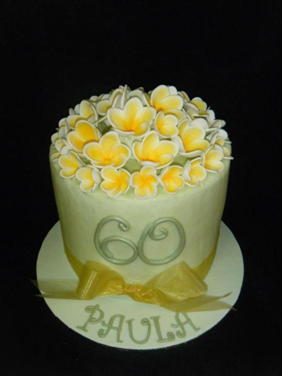 Double Barrel Buttercream Cake Recipe