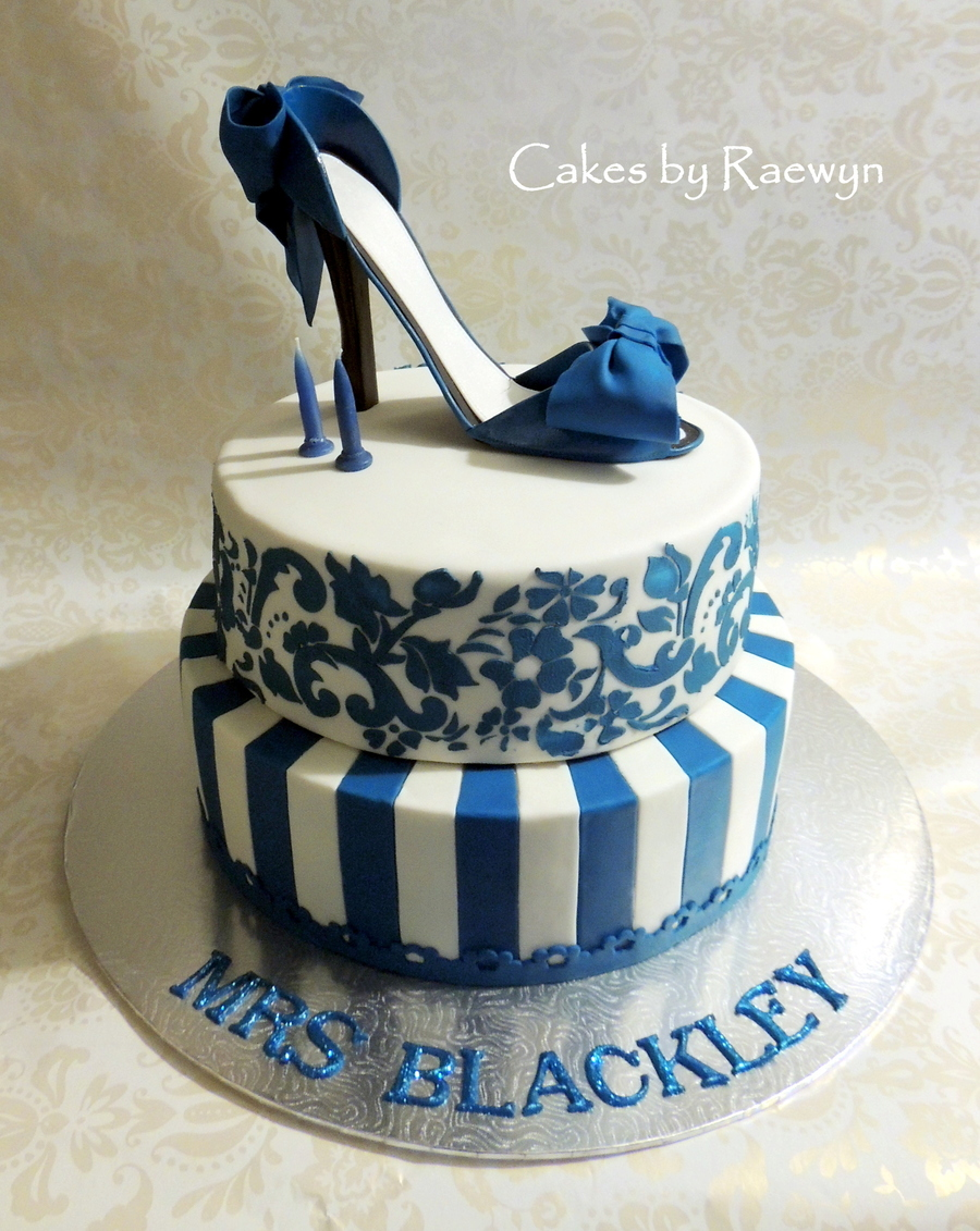 The 24 Hour Shoe Cake :) on Cake Central