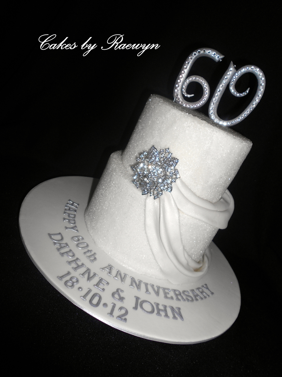 Diamond Wedding Anniversary Cake on Cake Central