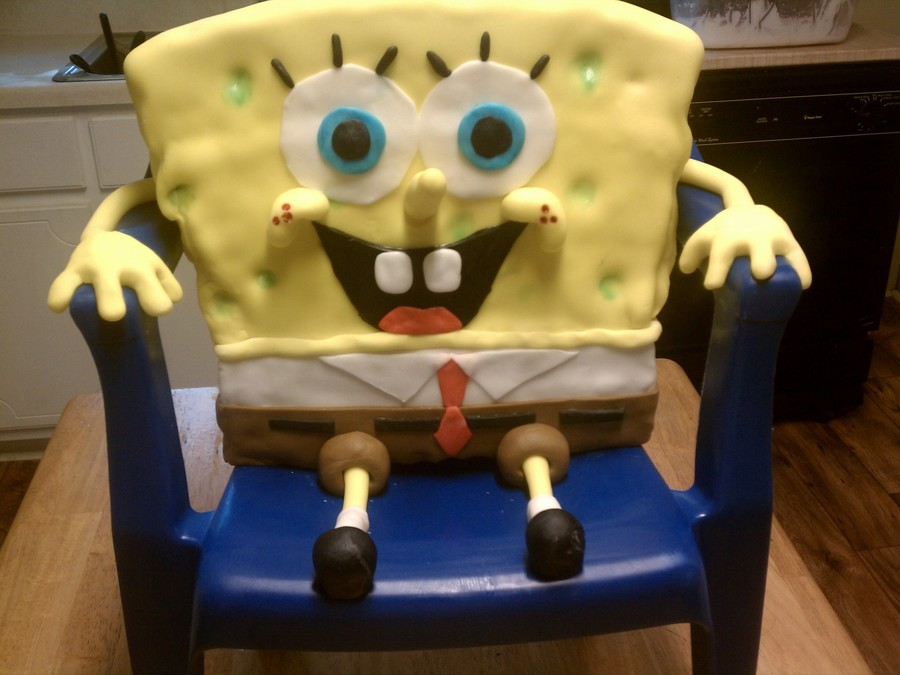 Who Lives In A Pineapple Under The Sea?  on Cake Central