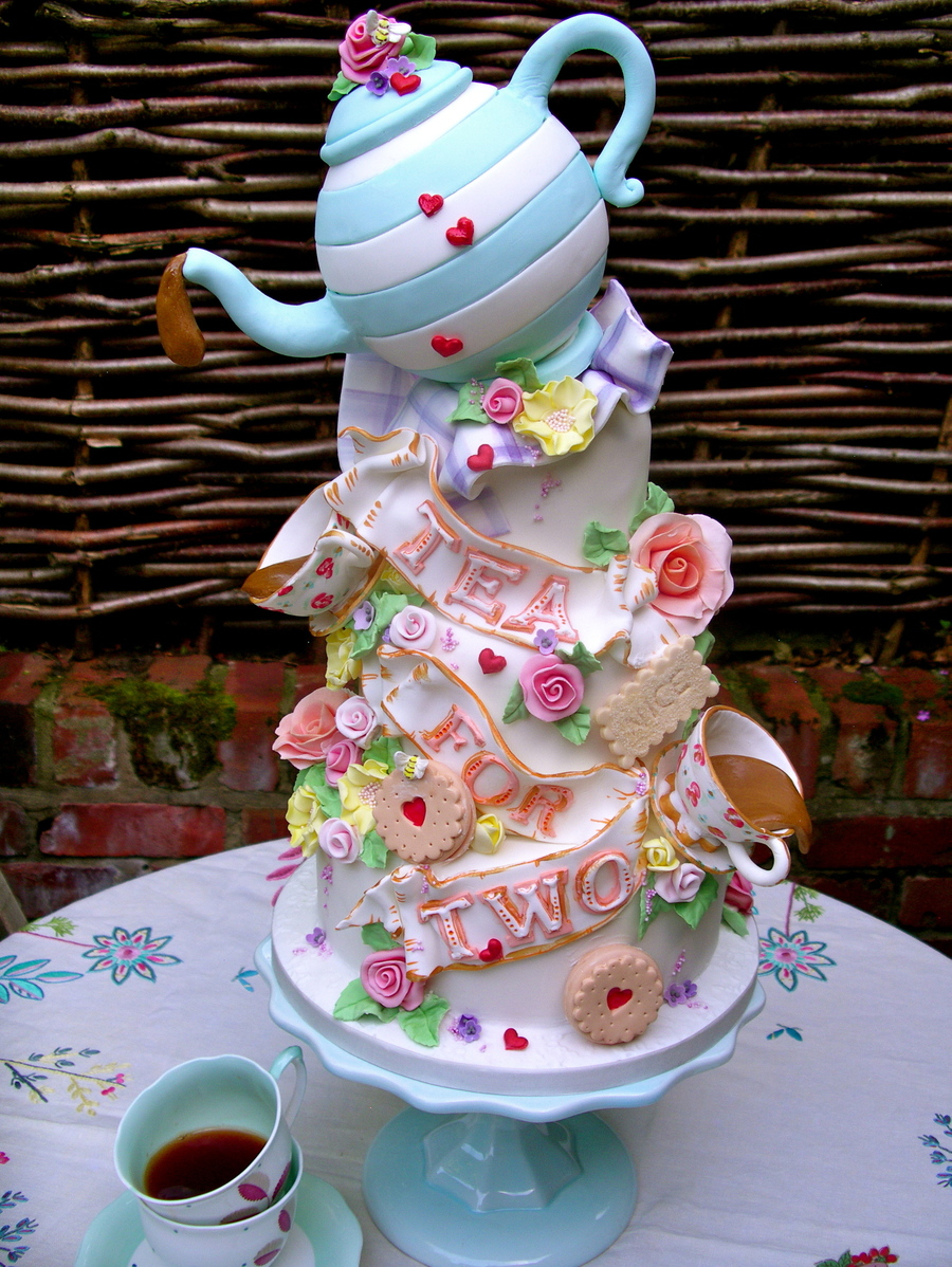 How To Make Tea Party Cakes
