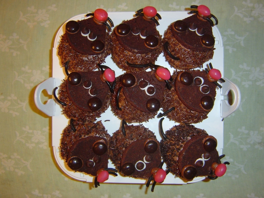 Mouse Cupcakes on Cake Central