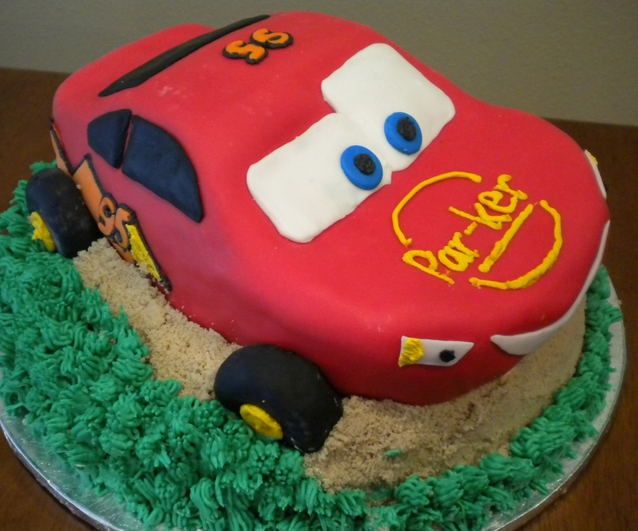 Cars Themed Birthday Cake On Central