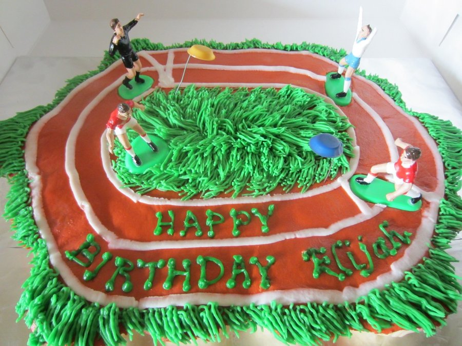 Frisbee Cake on Cake Central