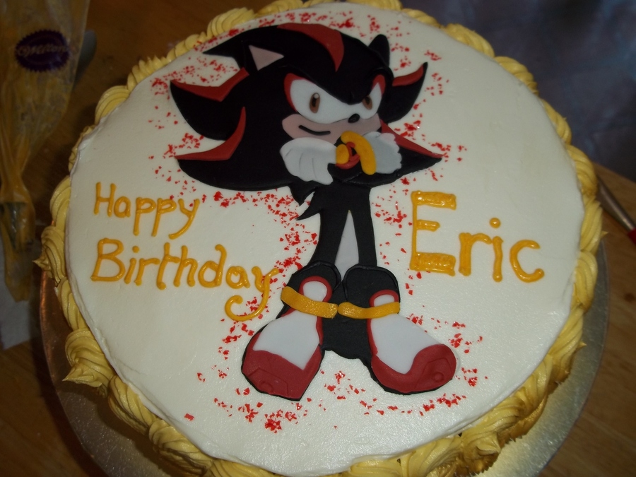 Shadow The Hedgehog Cakecentral Com
