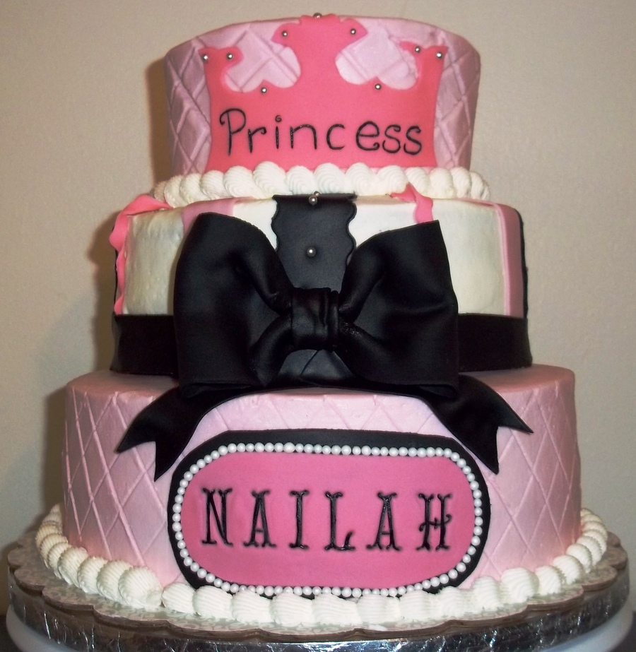 Nailah Birthdaybaby Shower Cake Cakecentral