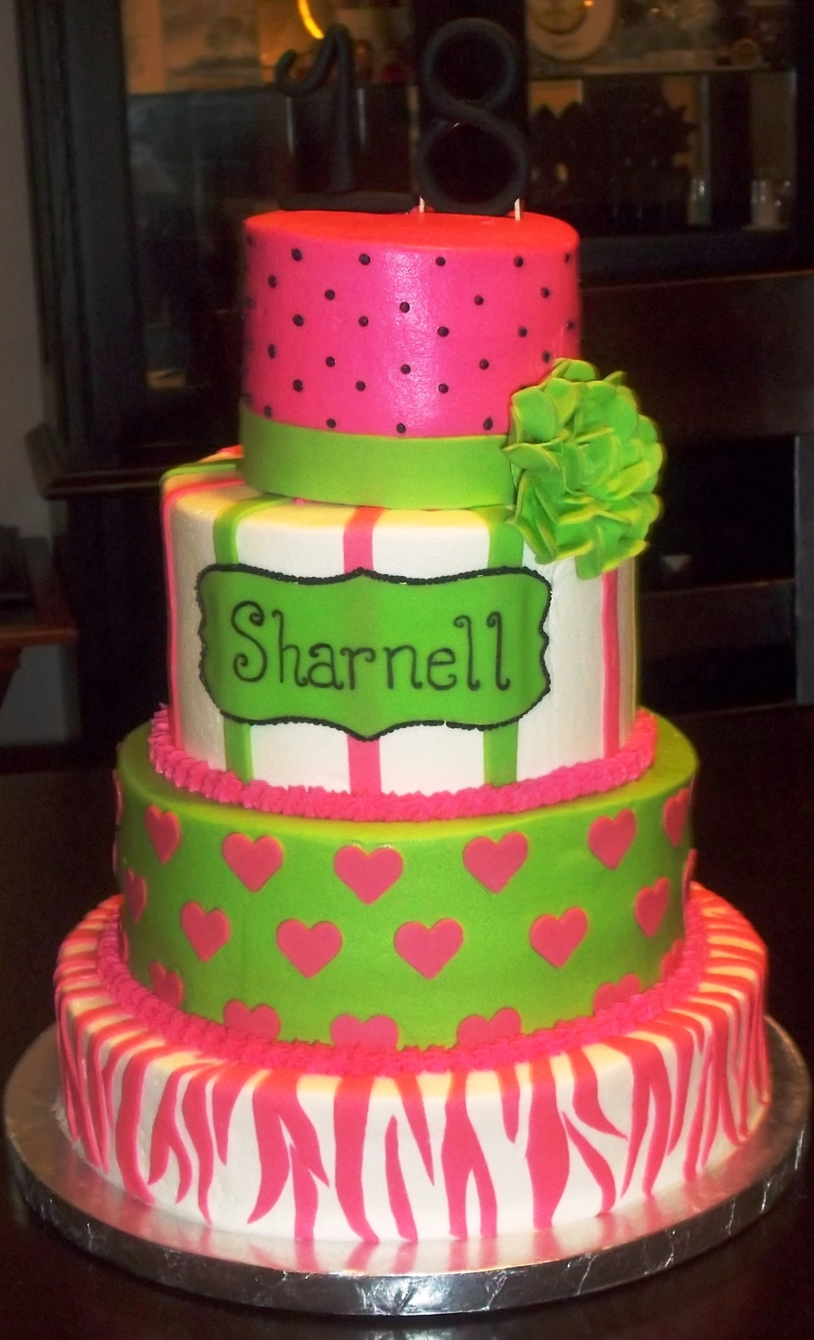 Whimsical 18Th Birthday on Cake Central
