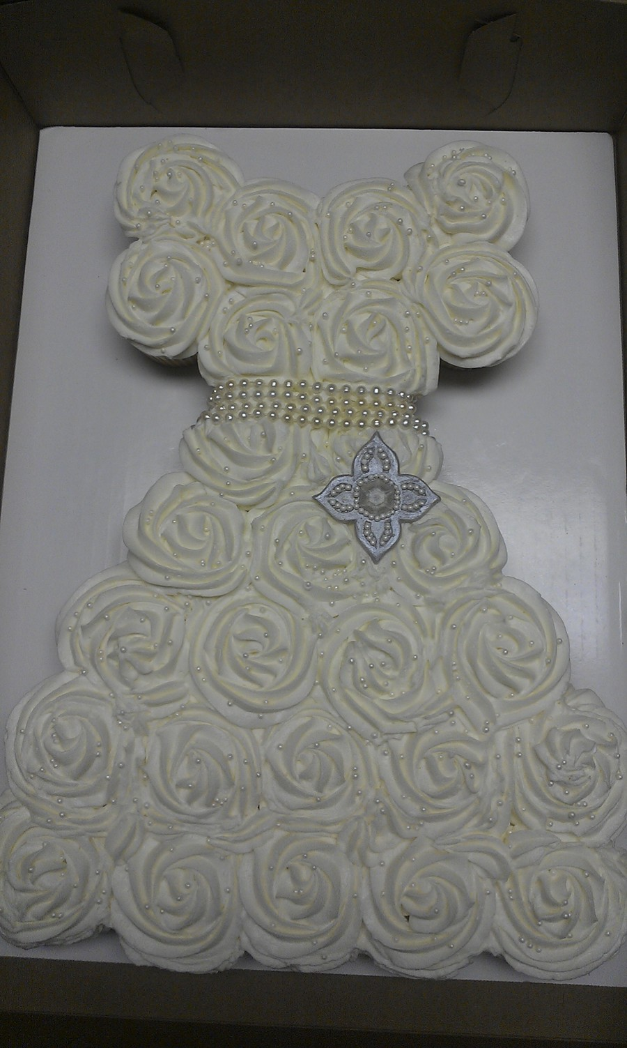 Wedding Dress Cupcakes! on Cake Central
