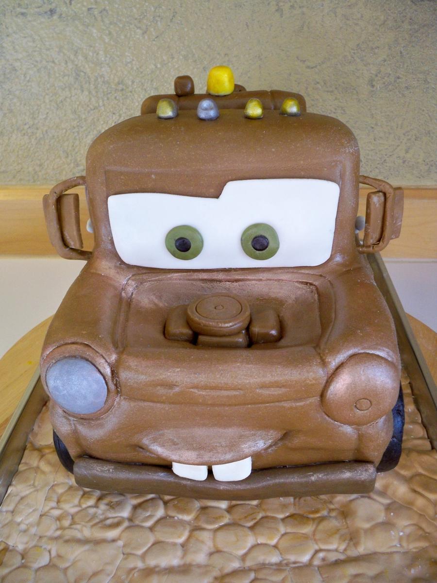 Astounding Tow Mater Birthday Cake Cakecentral Com Funny Birthday Cards Online Benoljebrpdamsfinfo