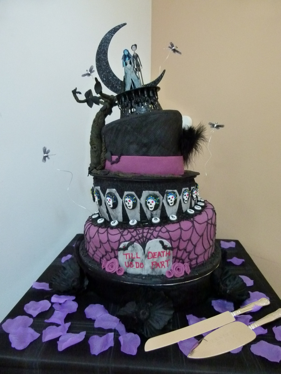 gothic wedding cakes pictures cakecentral 14882