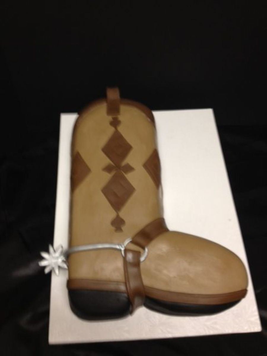 Boot Cake on Cake Central