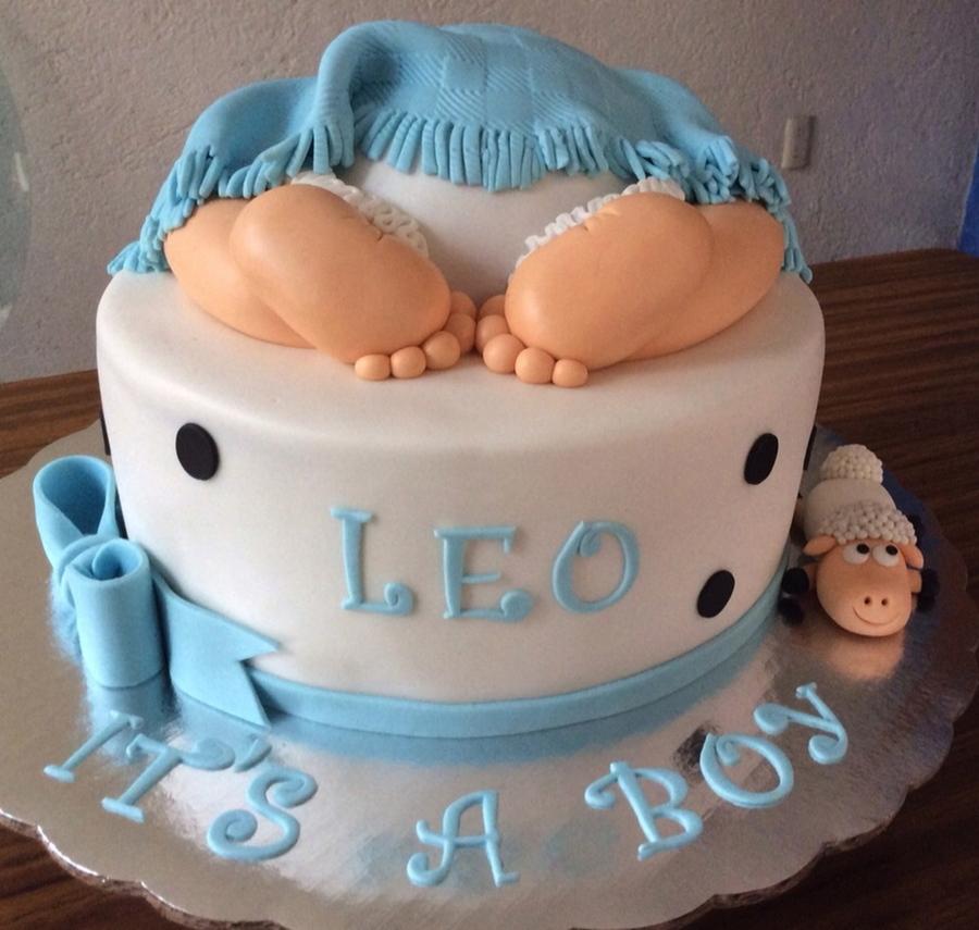 Baby Bo Shower Butt Cake Cakecentral Com