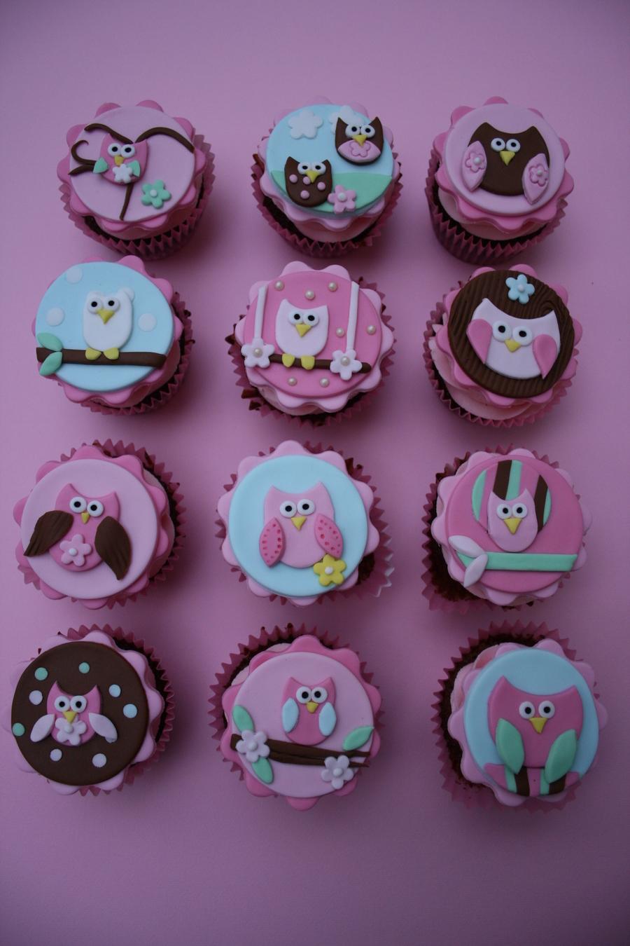 Owl Cupcakes Cakecentral Com