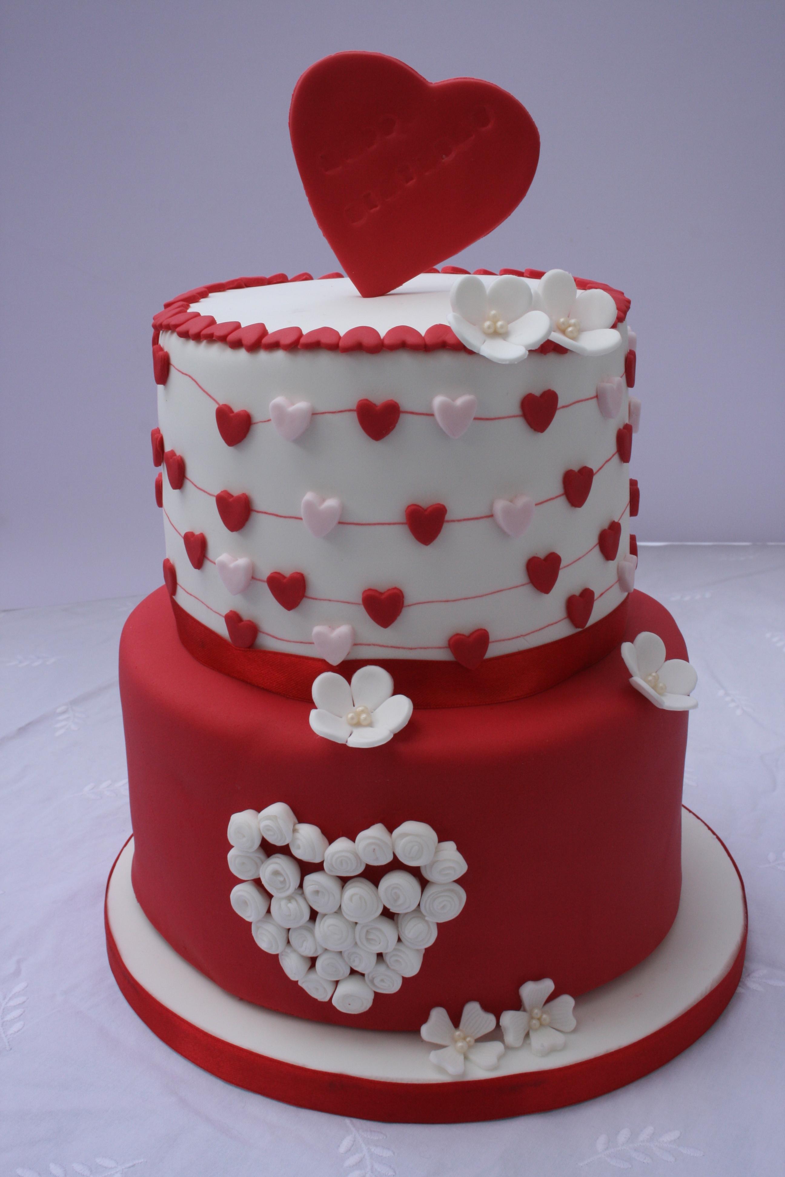 Valentine s Birthday Cake - CakeCentral.com