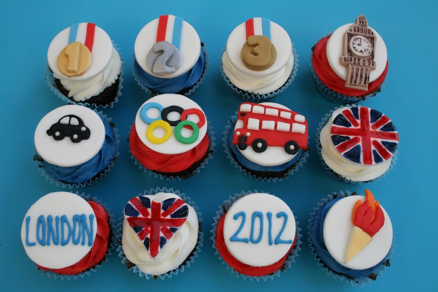Olympic Cupcakes  on Cake Central