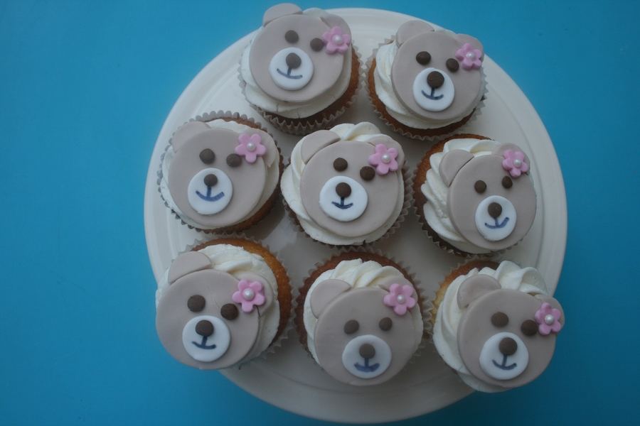 Teddybear Cupcakes on Cake Central