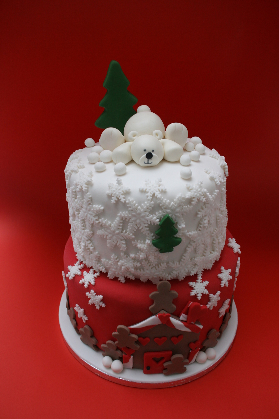 Christmas Inspired on Cake Central