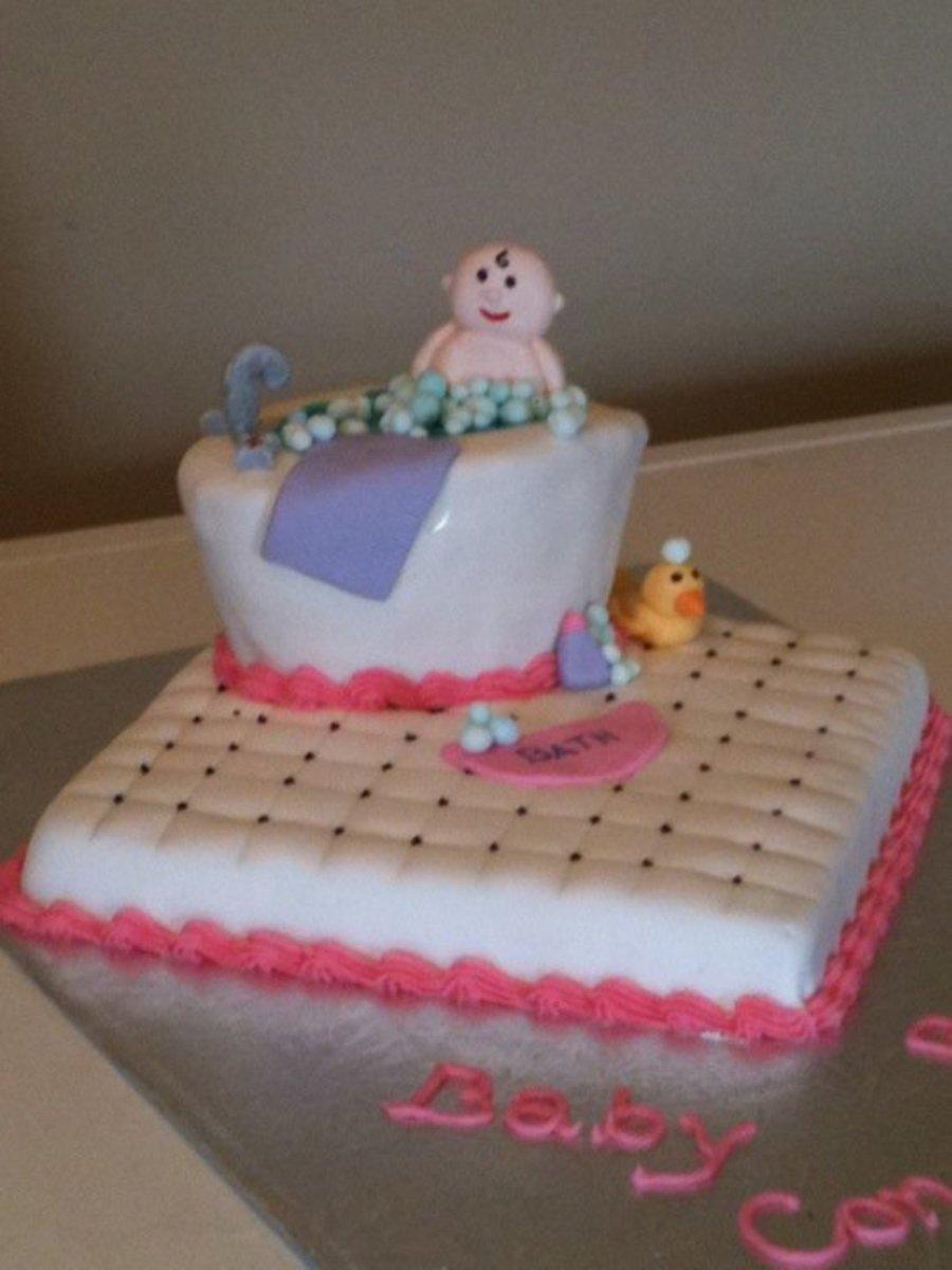 Bathtub Cake Layer