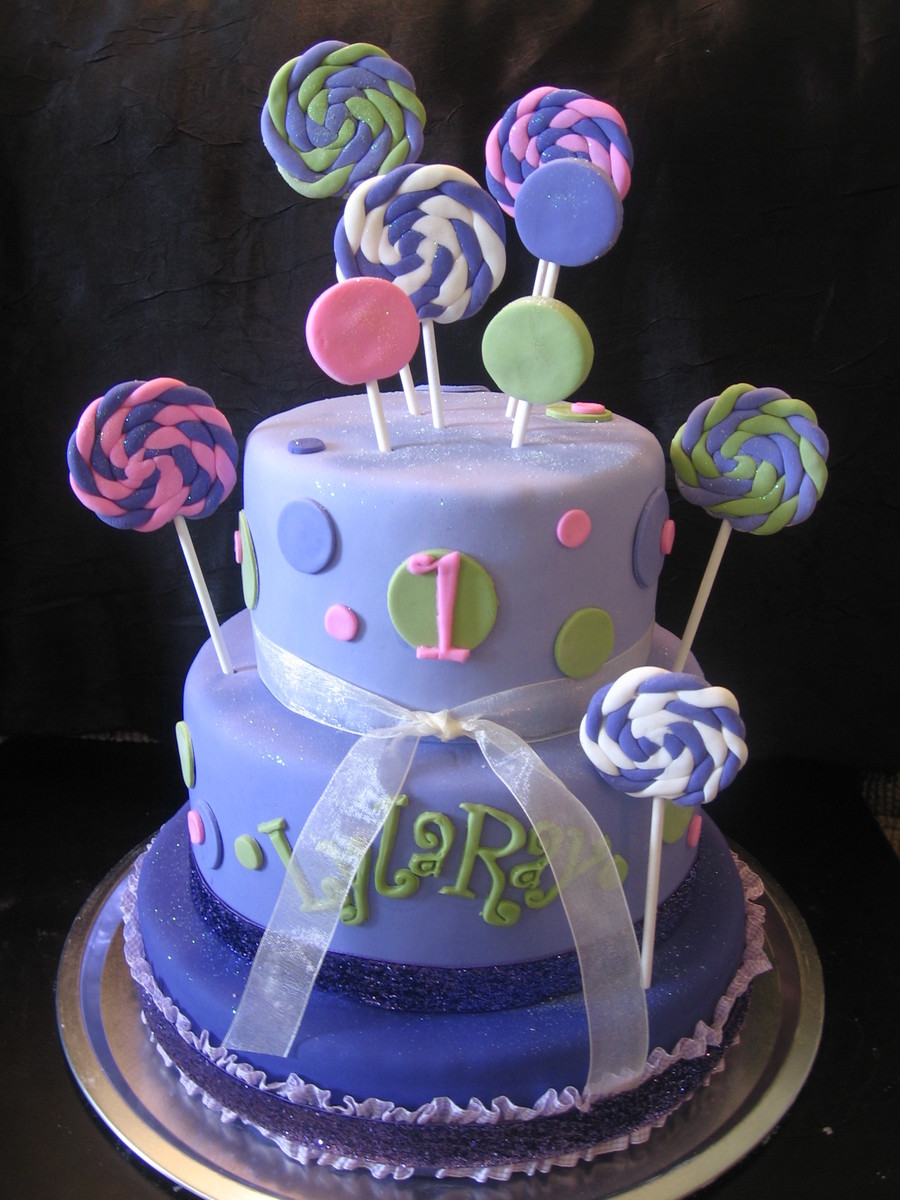 Lyla's Lollipops on Cake Central