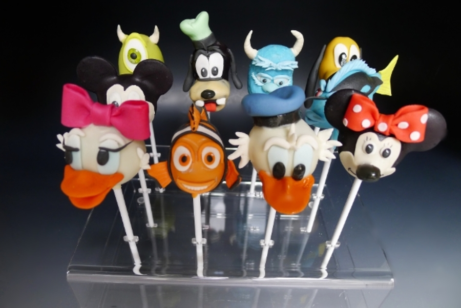 Disney Cake Pops For A Little Girls Journey To Disneyland For Her Birthday on Cake Central